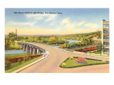 Bridge, Des Moines, Iowa Posters