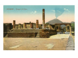 Temple of Jupiter, Pompeii, Italy Posters