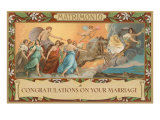 Matrimonio, Congratulations on Your Marriage, Classical Procession Posters