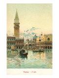 サン・マルコ大聖堂, ベネチア, イタリア ポスター