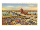 Bridge, Peoria, Illinois Posters