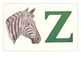 Z, Zebra Prints