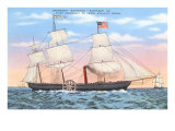 Steamship Savannah Poster