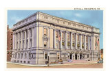 City Hall, Indianapolis, Indiana Prints