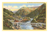 St. Joe River, Idaho Poster