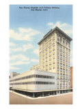 Des Moines Register and Tribune Building, Des Moines, Iowa Prints