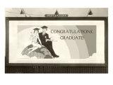 Billboard, Congratulations Graduate Posters