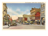 East Broadway, Logansport, Indiana Posters