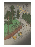 Thunderstorm in Japan Print