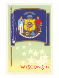 Flag of Wisconsin Print