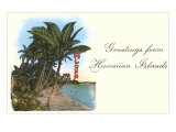Greetings from Hawaiian Islands Prints