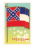 Flag of Mississippi Prints