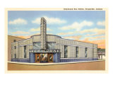 Greyhound Bus Station, Evansville, Indiana Plakát
