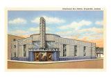Greyhound Bus Station, Evansville, Indiana - Poster