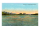 Lake Pend d'Oreille, Sandpoint, Idaho Prints
