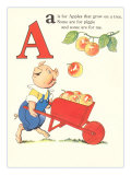 A is for Apples Prints
