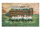 Babies in the Cabbage Patch Art