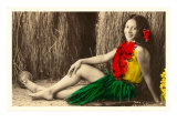 Hula Girl, Hawaii Posters