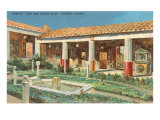 House of the Golden Cupids, Pompeii, Italy Print