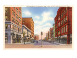Second Street, Davenport, Iowa Prints