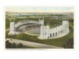 University Stadium, Evanston, Illinois Print