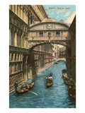 Bridge of Sighs, Venice Posters