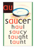 AU in Saucer Prints