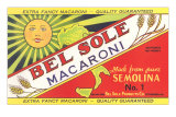 Bel Sole Macaroni Label Prints