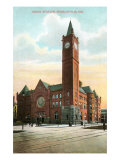 Union Station, Indianapolis, Indiana Prints