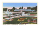 Garfield Park, Indianapolis, Indiana Posters