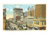 Downtown Savannah, Georgia Prints