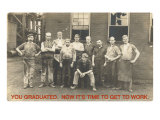 You Graduated, Factory Workers Poster
