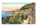 Bellagio, Lake Como, Italy Print