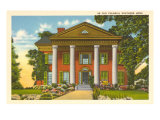 Colonial Southern Home Prints