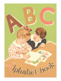 ABC Alphabet Book Cover Prints
