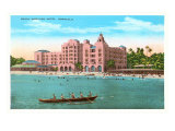 Royal Hawaiian, Honolulu, Hawaii Poster