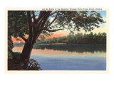 Wabash River, Terre Haute, Indiana Kunstdrucke