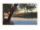 Wabash River, Terre Haute, Indiana Posters