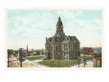 Courthouse, Terre Haute, Indiana Posters