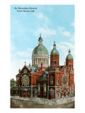 St. Benedict&#39;s Church, Terre Haute, Indiana Prints