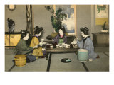 Geishas and Tea Ceremony Posters