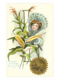 Indiana State Belle, Corn Prints