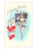 A Banner Birthday, Majorette Prints