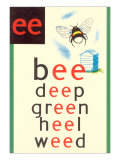 EE in Bee Print