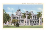 State Capitol, Royal Palace, Honolulu, Hawaii Prints