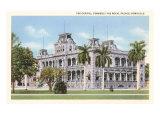 State Capitol, Royal Palace, Honolulu, Hawaii Posters