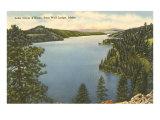 Lake Coeur d'Alene, Idaho Kunstdruck