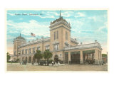 Union Station, Savannah, Georgia Posters