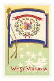 Flag of West Virginia Prints
