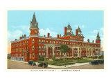 Oglethorpe Hotel, Brunswick, Georgia Poster
